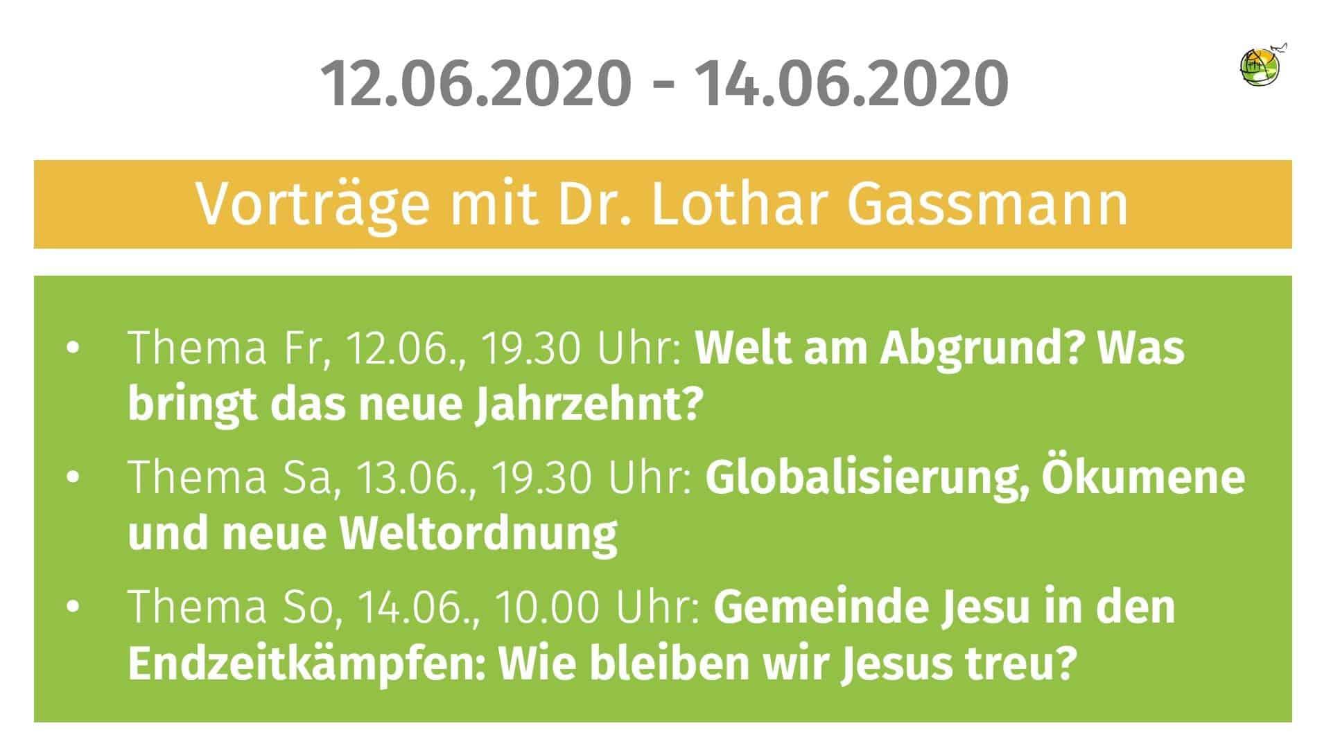 Vortrage Mit Dr Lothar Gassmann Febg Mosbach